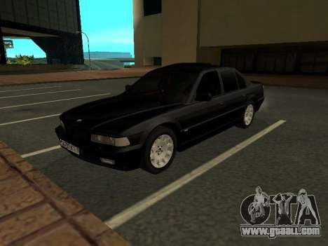 BMW 740I for GTA San Andreas left view