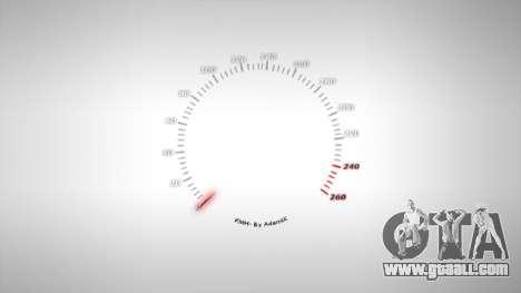 Speedometer AdamiX v1 for GTA 4