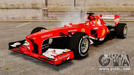 Ferrari F138 2013 v4 for GTA 4