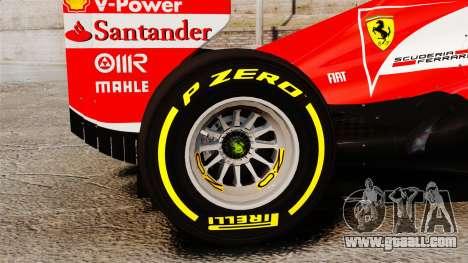 Ferrari F138 2013 v5 for GTA 4 back view