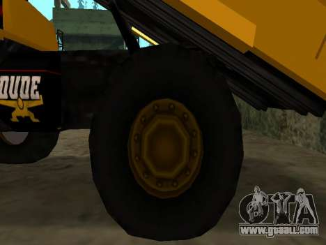 New Dumper for GTA San Andreas bottom view