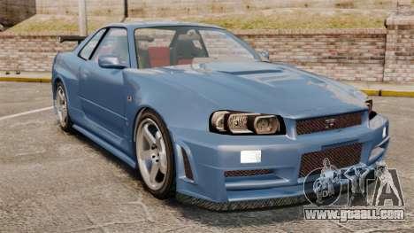 Nissan Skyline R34 GT-R Z-tune for GTA 4