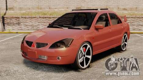 Mitsubishi Lancer Evolution IX 1.6 for GTA 4