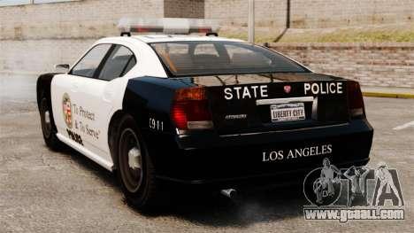 Buffalo police officer LAPD v2 for GTA 4 back left view