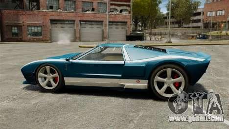 New Bullet GT for GTA 4 left view