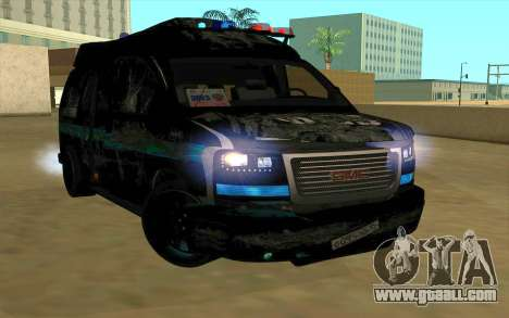 GMC Savana AWD FSB for GTA San Andreas right view