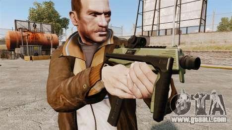 MP9 submachine gun tactical v2 for GTA 4 third screenshot