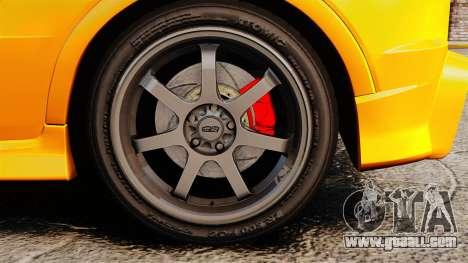 Honda Civic Type-R (FN2) for GTA 4 back view