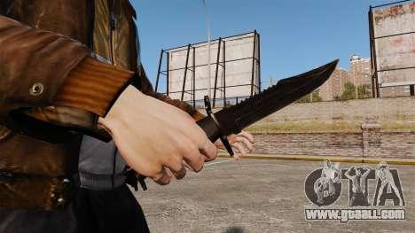 The Alabama Slammer black knife for GTA 4 second screenshot
