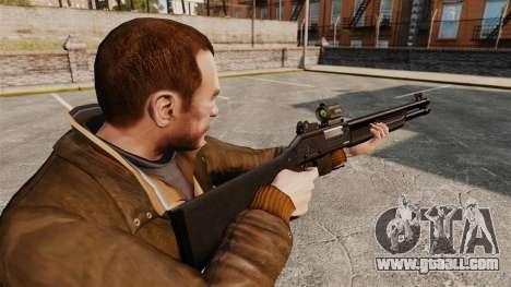 Tactical shotgun Fabarm SDASS Pro Forces v2 for GTA 4 second screenshot