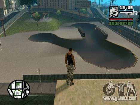 New BMX Park v1.0 for GTA San Andreas