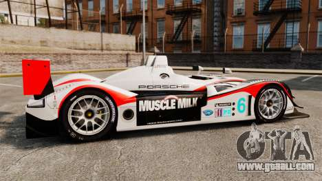 Porsche RS Spyder Evo for GTA 4 left view
