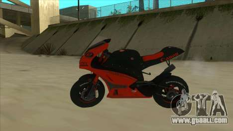 RP Motorsport Yamaha M1 for GTA San Andreas left view
