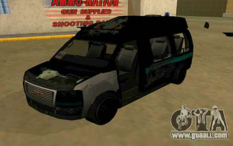 GMC Savana AWD FSB for GTA San Andreas side view