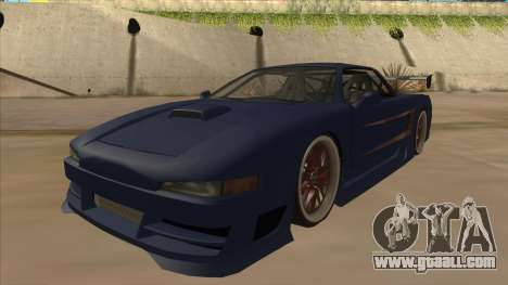 Infernus 2013 for GTA San Andreas