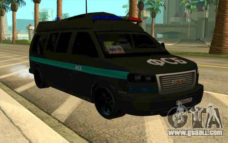 GMC Savana AWD FSB for GTA San Andreas