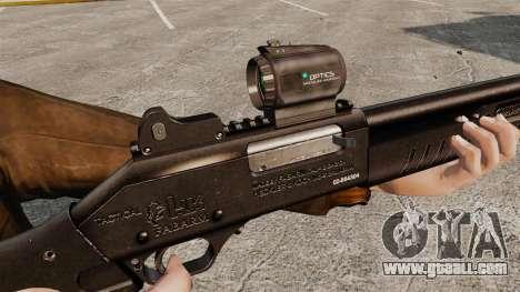 Tactical shotgun Fabarm SDASS Pro Forces v2 for GTA 4 forth screenshot