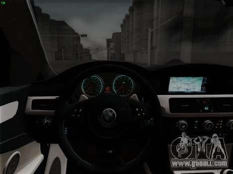 BMW M5 Hamann for GTA San Andreas wheels