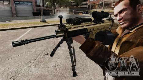 Assault machine FN SCAR-L for GTA 4 forth screenshot