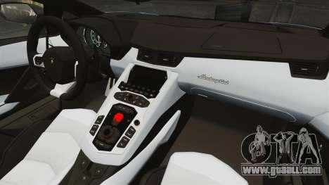 Lamborghini Aventador LP700-4 2012 EPM for GTA 4 back left view