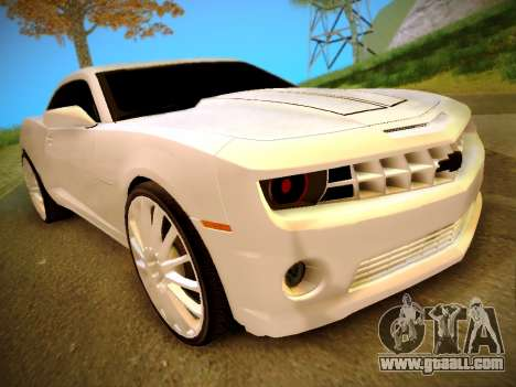 Chevrolet Camaro SS Tuning for GTA San Andreas