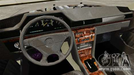 Mercedes-Benz W124 Coupe for GTA 4 inner view