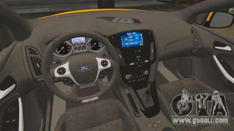 Ford Focus ST 2013 for GTA 4 inner view