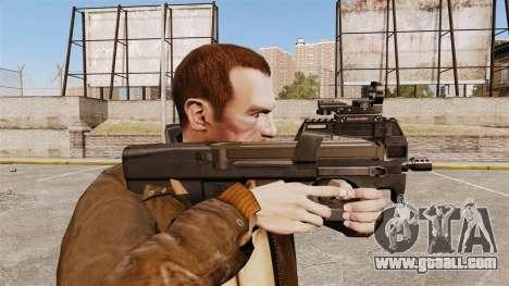 FN P90 submachine gun for GTA 4