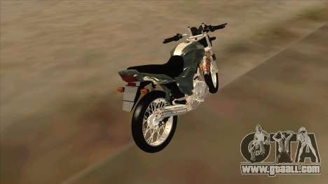 Yamaha YBR for GTA San Andreas back left view