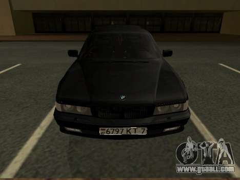 BMW 740I for GTA San Andreas