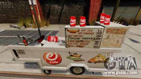 Carbonated beverage Coca-Cola for GTA 4