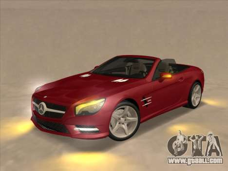 Mercedes-Benz SL500 2013 (ImVehFt v2.02) for GTA San Andreas right view