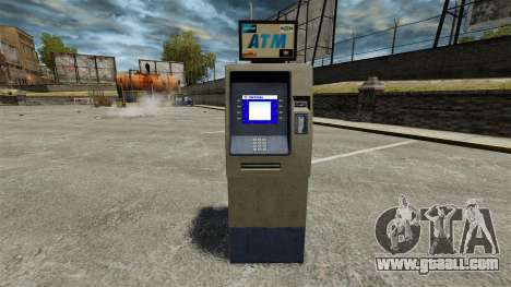 Bank Of America ATM v 2.0 for GTA 4 second screenshot