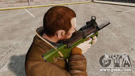 Belgian FN P90 submachine gun v2 for GTA 4 second screenshot