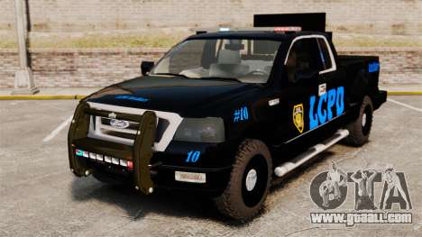 Ford F-150 v3.3 LCPD Auxiliary [ELS & EPM] v1 for GTA 4