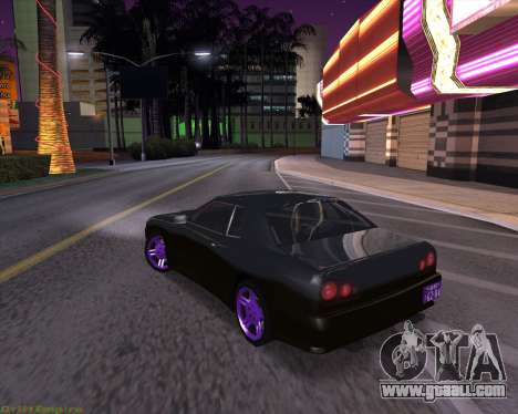 Elegy by Xtr.dor v2 for GTA San Andreas back left view