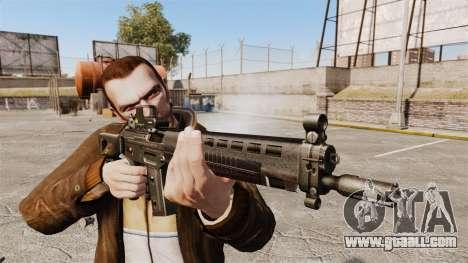 SIG 551 assault rifle for GTA 4 third screenshot