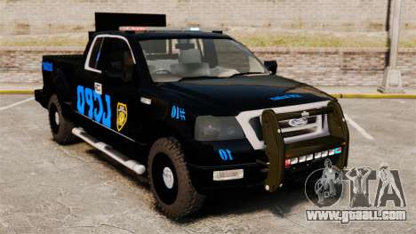 Ford F-150 v3.3 LCPD Auxiliary [ELS & EPM] v3 for GTA 4