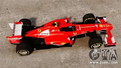 Ferrari F138 2013 v5 for GTA 4 right view