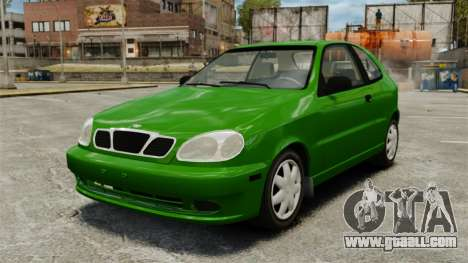 Daewoo Lanos FL 2001 US for GTA 4