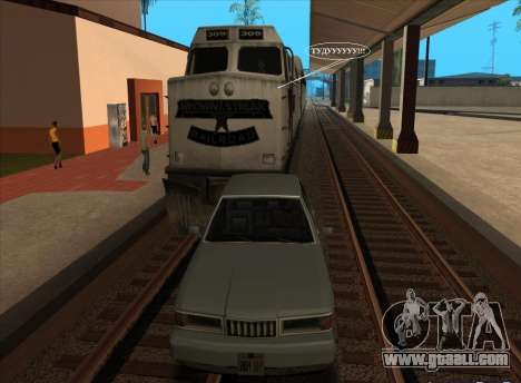 Hoot for trains for GTA San Andreas