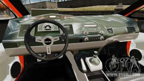 Honda Civic Type-R (Mugen RR) for GTA 4 back view