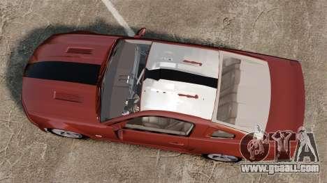 Ford Mustang Saleen SA-25 2008 for GTA 4 right view