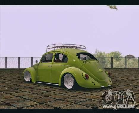 Volkswagen Beetle 1966 for GTA San Andreas left view
