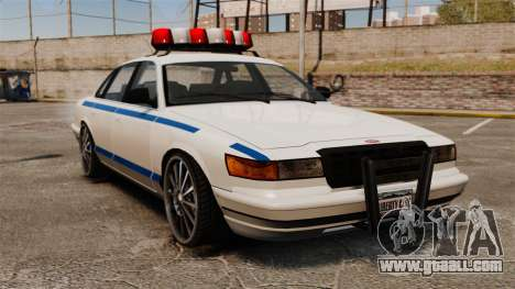 Police on a 20-inch drives for GTA 4