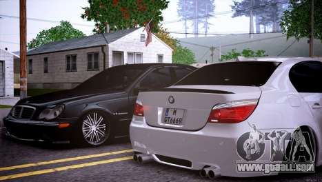 Mercedes-Benz C32 AMG for GTA San Andreas side view