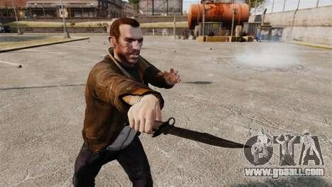 The Alabama Slammer black knife for GTA 4 third screenshot