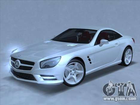 Mercedes-Benz SL500 2013 (ImVehFt v2.02) for GTA San Andreas left view