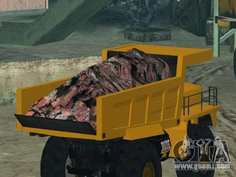 New Dumper for GTA San Andreas wheels
