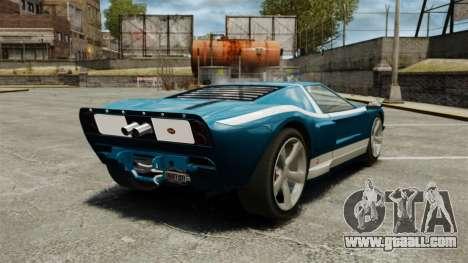 New Bullet GT for GTA 4 back left view